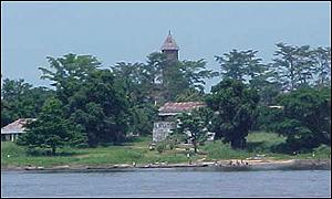 View form the banks of the Congo