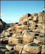 The giants causeway is one of Northern Ireland's biggest tourist attractions
