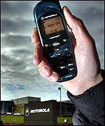 Motorola mobile phone