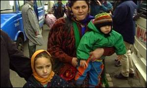 Romanian gypsy refugees in the UK