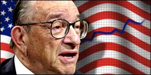 Alan Greenspan of the Federal Reserve