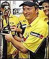 Steve Waugh with the NatWest Trophy