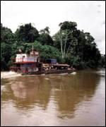 Boat on Amazon BBC