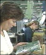 Nortel production line