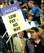 Unison workers
