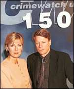 Crimewatch's Jill Dando and Nick Ross