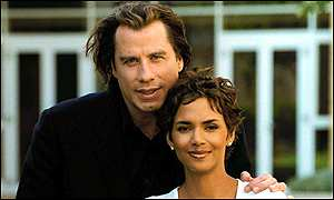 John Travolta and Halle Berry