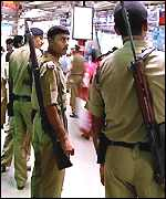 Police in Bombay