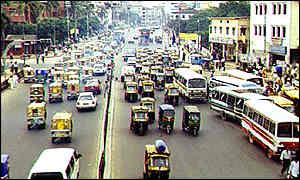 Dhaka street
