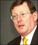 First minister and Ulster Unionist leader David Trimble