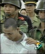 Chinese prisoner is executed on Anti-Drugs Day