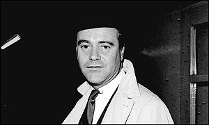 Jack Lemmon at Heathrow airport