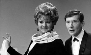 Joan Sims and Kenneth Williams