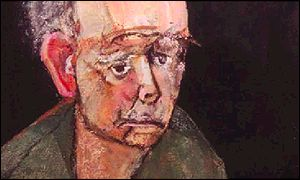 William Utermohlen - showing difficulties in reproducing his perception of his face