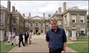 Earl Spencer at Althorp House