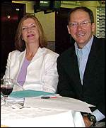 Alison Wenham and Hank Barry