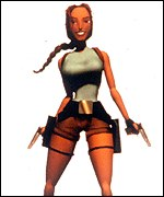 Lara Croft, the computer game character