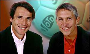 Gary Linker and Alan Hansen on Match of the Day
