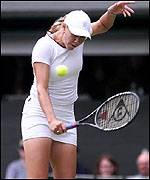 John McEnroe doesnt like Lycra on Alicia Molik