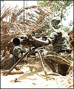 Tamil Tiger anti-tank unit