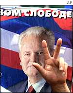 Support for Slobodan Milosevic