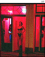 Prostitutes in Amsterdam
