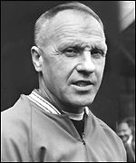 Former Liverpool manager Bill Shankly