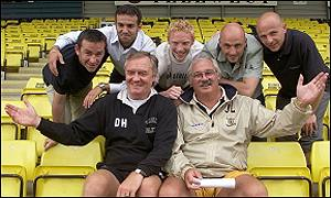 Davie Hay and Jim Leishman with their new men