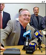 Bill Daniels, president of the Screen Actors Guild, during a press conference