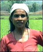 Nepalese peasant woman