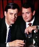 Rupert Graves and Hugh Bonneville