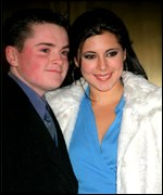Robert Iler and co-star Jamie-Lynn Sigler