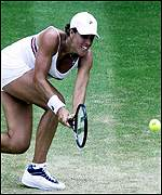 Jennifer Capriati's Wimbledon dream is over