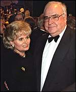 Helmut and Hannelore Kohl