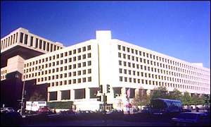 FBI headquarters BBC