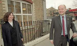 Amanda Platell with William Hague in 1999