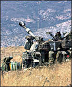 Israeli self-propelled gun