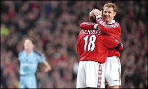 Paul Scholes Nicky Butt
