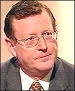 David Trimble: Has withdrawn his comments