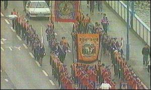 The Orangemen have been barred from the Cityside