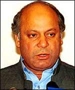 Mr Sharif is blamed for sparking the military coup