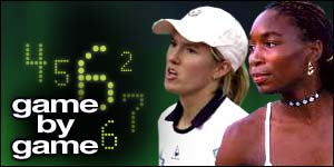 Game-by-game coverage of the women's final from Wimbledon