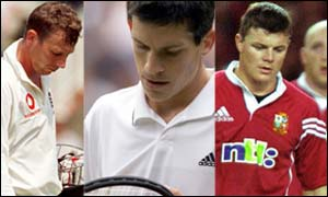 Mike Atherton, Tim Henman and The British Lions