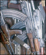 A cache of KPP arms