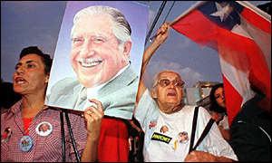 Pinochet supporters