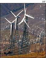 Wind farms in the United States