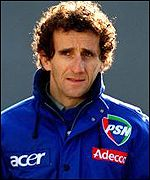 French driver Alain Prost won the race five times