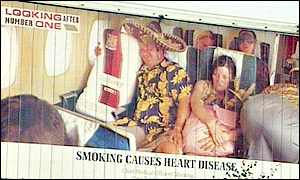 Tobacco advert