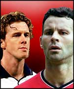 Steve McManaman and Ryan Giggs