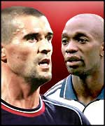 Roy Keane and Claude Makelele